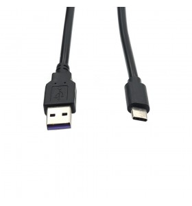 usb A big current 5A purple chip usb c charger cable