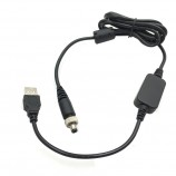 usb 5v to 12v dc5525 male with thread and SR step up cable