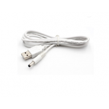 Dc 3.5 X 1.35Mm Male To Usb 2.0 A Male Connector Power Cable 1M White
