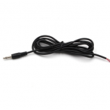 "3.5mm 1/8"" Monaural Mini Mono Plug to Bare Wire 6-Feet - 12V DC Trigger ON/OFF Cable"