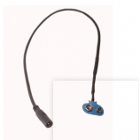Battery cables 9v snap to 5.5mm 2.1 dc plug