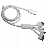 Wholesale Universal 4 in 1 multi port USB Multi charger Cable For Mobile Phone MP3 MP4
