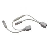 usb female open end cable to dc female