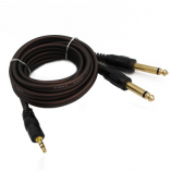 1M / 3FT 1/4 Jack 6.35mm Male to Male Electric Guitar mono audio cable