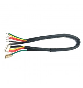 1pin male dupont 2.54mm to 2 pin female pitch housing cable wire harness