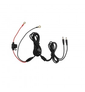 Two O-ring black red with  10A fuse to 2 dc5521 male cable , Hot gloves, helmet products