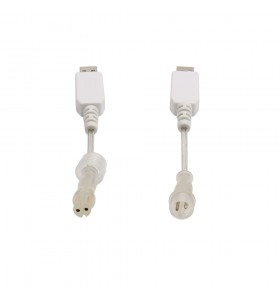 High tenacity usb 5v to 12v M12 2pin male transparent cable