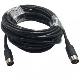 POWERLINK 8P TO 8P male to male , black color ,length 10M