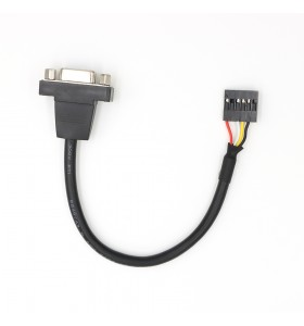DB9 female to Dupont 6pin cable