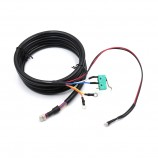 Molex 6pin to micro switch and 2 O-ring and led lingth  customized cable
